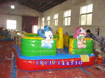 室内儿童充气蹦蹦床/儿童弹跳床/户价格|批发|报价