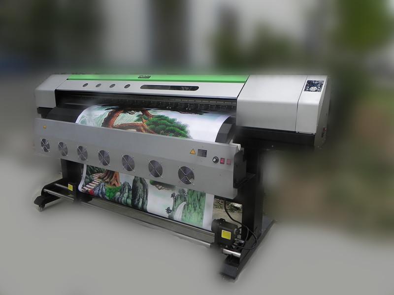 普捷a8户外压电写真机 户外写真机 弱溶剂写真机 国产户外