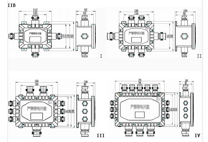 jx53-系列防爆接线箱(iib,iic)