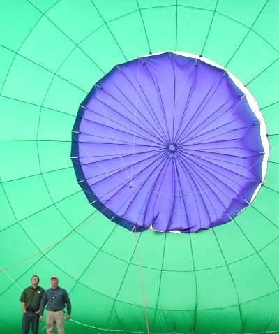 热气球的结构及工作原理